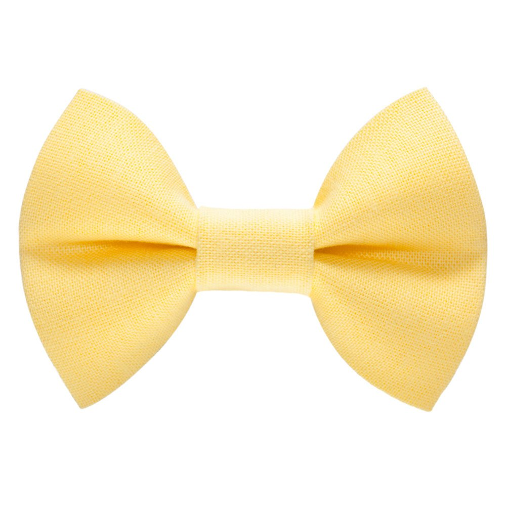 yellow detachable cat bow tie