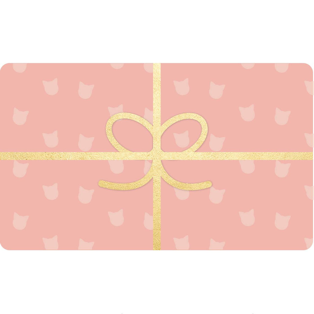 cat lover gift card