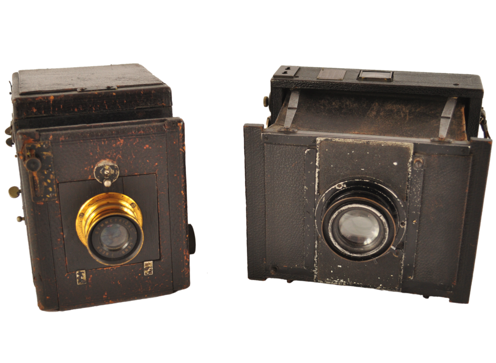 Old Cameras Goerz Thornton Pickard - Vintage Whatnots