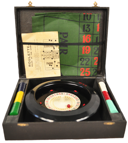 Old Chad Valley Roulette Game - Vintage Whatnots