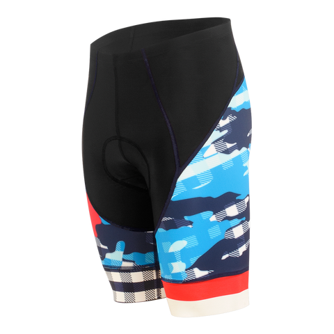 Ginghamo Men's Force Short Cosmic Blue