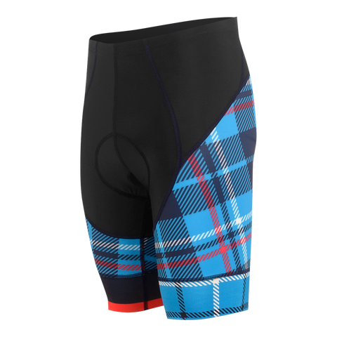 Tartanic Men's Force Short Cosmic Blue