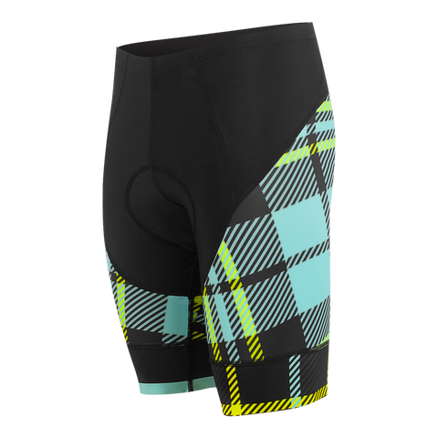 Tartanic Men's Force Short Lagoon