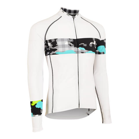 Ginghamo Fusion Long Sleeve Jersey