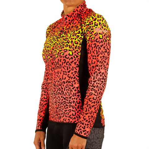 W's Leopard Bella Long Sleeve Jersey