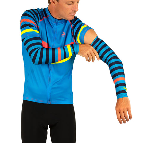 M's MultiStripe UPF Arm Protection