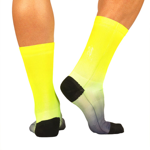 M's WaveLength Print Sock