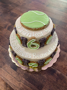 Tennis Ball Celebration Cake