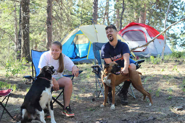 dog camping gear and supplies for backpacking, hiking, outdoors