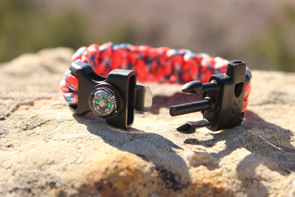 Digital Bronco Survival Bracelet