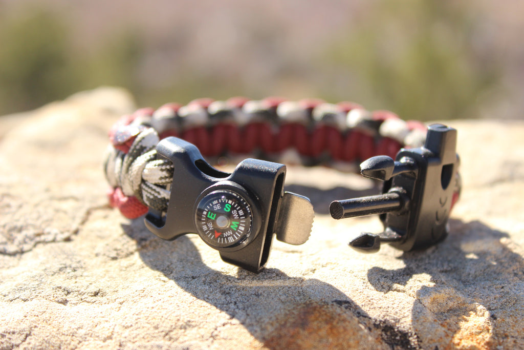 Roll Tide Survival Bracelet