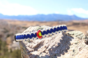 Paracord Survival Collar -Colorado