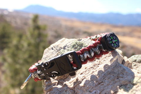 Paracord Survival Collar - Roll Tide