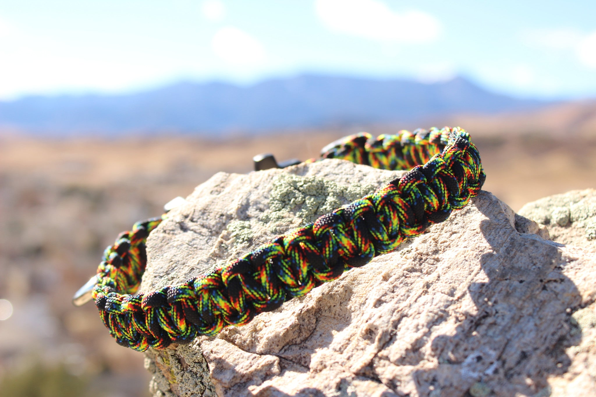 Paracord Survival Collar -Galaxy