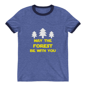 Forest Be With You Ringer T-Shirt