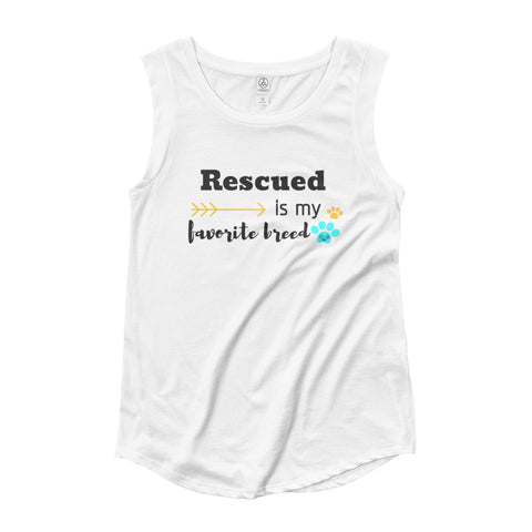 Rescued Breed Ladies T-Shirt
