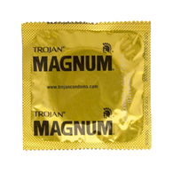 Trojan Magnum Lubricated (8 single condoms) Clearance Lot Exp 05/2021