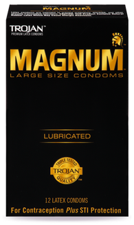 Trojan Magnum Lubricated (Retail pack of 12)