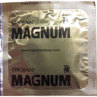 Trojan Magnum XL Lubricated (8 single condoms) Clearance Lot Exp 04/2019