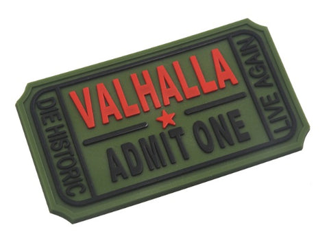 Accessories - Ticket To Valhalla Morale Patch