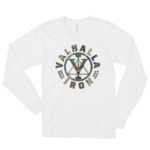 Ladies Woodland Logo Long Sleeve Shirt