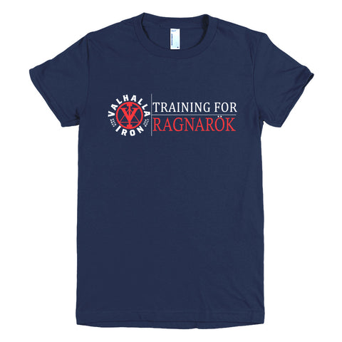Ladies Training For Ragnarok Shirt