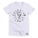Ladies Snow Camo Logo Shirt