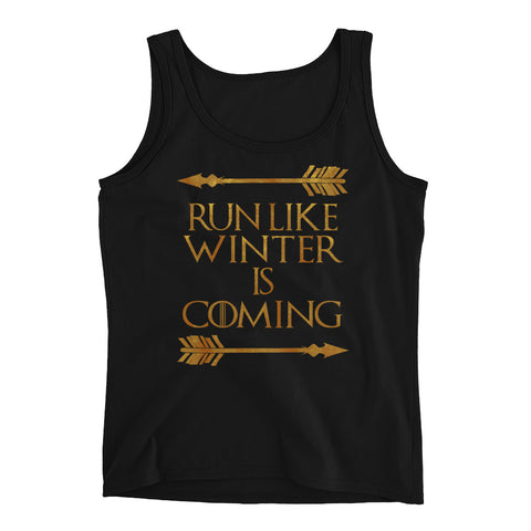 Ladies Run Like Winter Is Coming Tank
