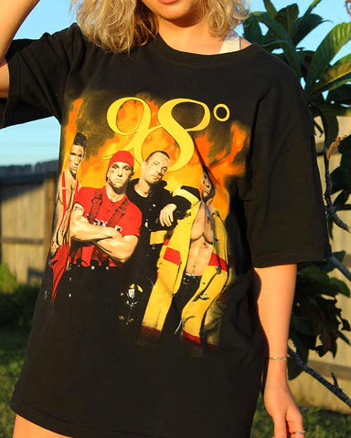 Dreamy 98 degrees vintage shirt
