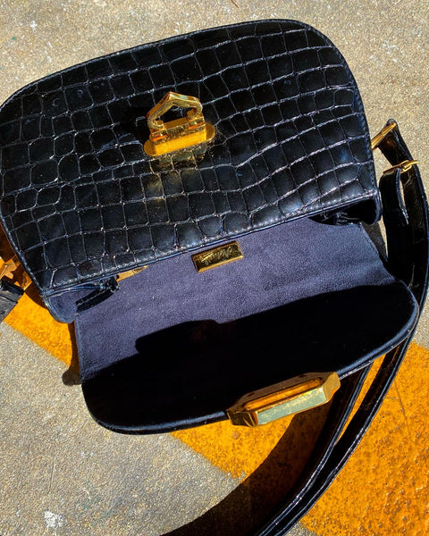 Black midnight purse