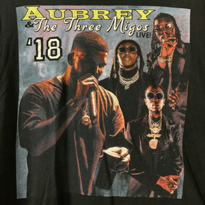 Aubrey & The three amigos 2018 shirt