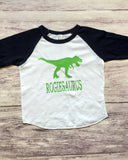 Dinosaur Shirt, Dinosaur Birthday Shirt, Personalized Dinosaur Shirt - Purple Elephant STL