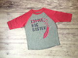 Big Sister Shirt, Promoted To Big Sister Shirt, Sister To Be Shirt, Sister Shirt - Purple Elephant STL