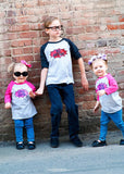 Big Brother & Little Sister Shirts, Brother & Sister Matching Shirts, Gender Reveal Shirts - Purple Elephant STL