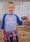 Big Brother Shirt, Big  Brother In Training Shirt, Brother To Be Shirt - Purple Elephant STL