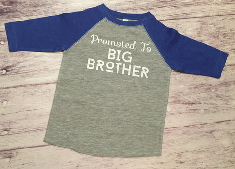 Big Brother Shirt, Promoted To Big Brother Shirt, Big Brother To Be Shirt, Brother Shirt - Purple Elephant STL