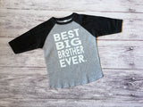 Best Big Brother Shirt, Big Brother Shirt, Big Brother To Be Shirt, Brother Shirt - Purple Elephant STL