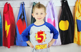 Superhero Birthday Shirt, Personalized Superhero Shirt, Birthday Shirt, Super Hero Birthday - Purple Elephant STL