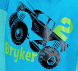 Monster Truck Birthday Shirt, Monster Truck Shirt, Boys Birthday Shirt, Truck Shirt - Purple Elephant STL