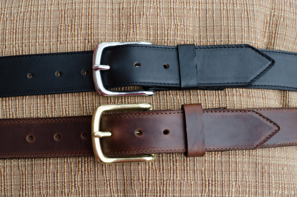 Leather Belt - 1.50""