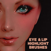 EYE AND LIP HIGHLIGHT BRUSHES | PHOTOSHOP