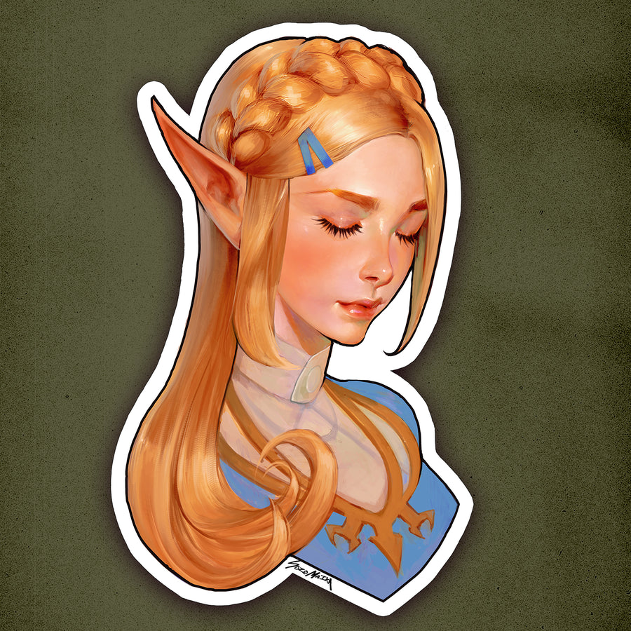 PRINCESS ZELDA STICKER