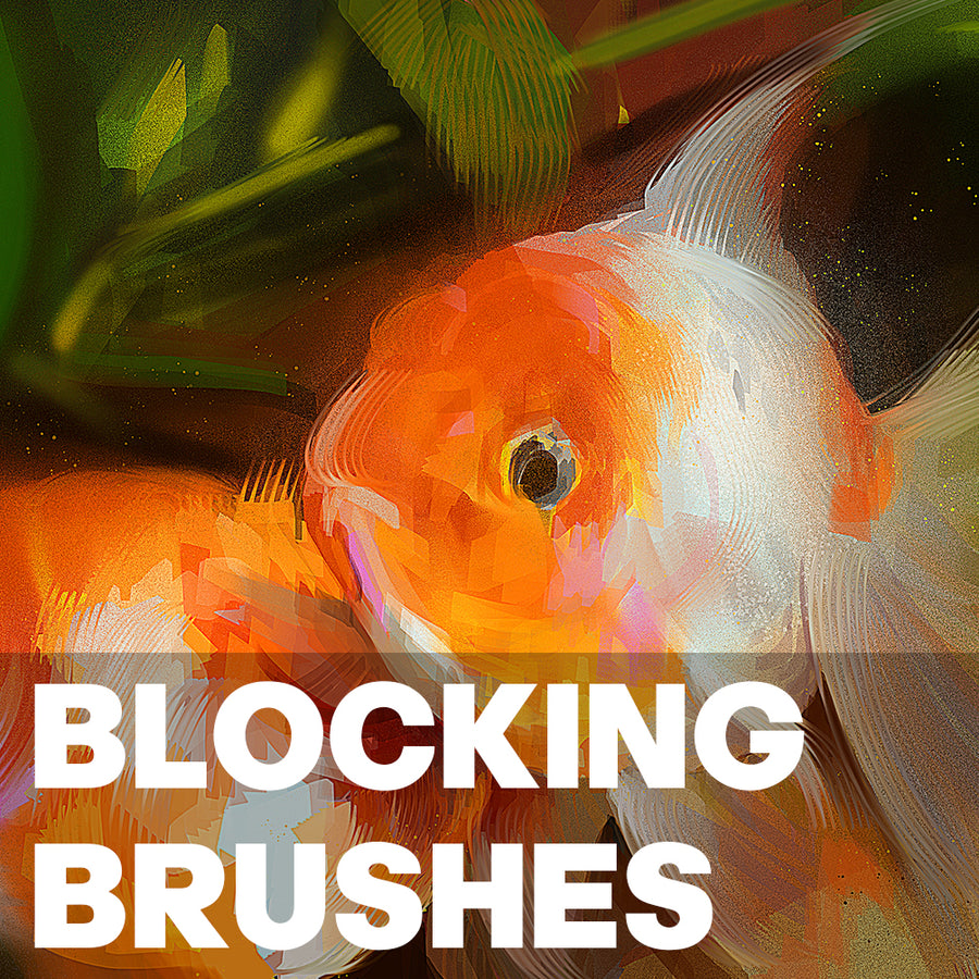 BLOCKING BRUSHES | PHOTOSHOP