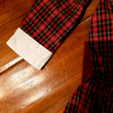 Ralph Lauren Drop Waist Plaid Dress with Diaper Cover