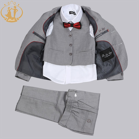 Nimble Single Breasted GQ Grey Suits