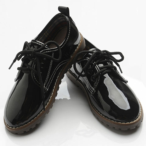 England Style Boys Formal Leather Shoes
