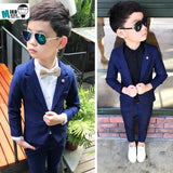Sassy Cotton Kids Blazer Coat + Pants