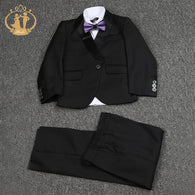Nimble Single Breasted Elegant Formal Suit