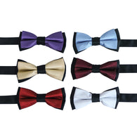 Classy Two Tone Bow Ties