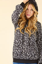 Leopard Hoodie Top - The Dainty Cactus Boutique